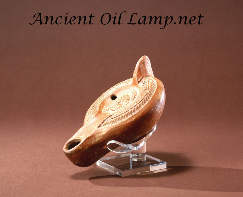 Ancient Oil Lamp Display Stands